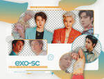 [PNG PACK] EXO-SC - (WHAT A LIFE: GOODS)
