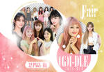 [PNG PACK] (G)I-DLE - (DISPATCH X NAVER)