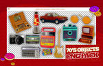 [PNG PACK] 70'S OBJECTS