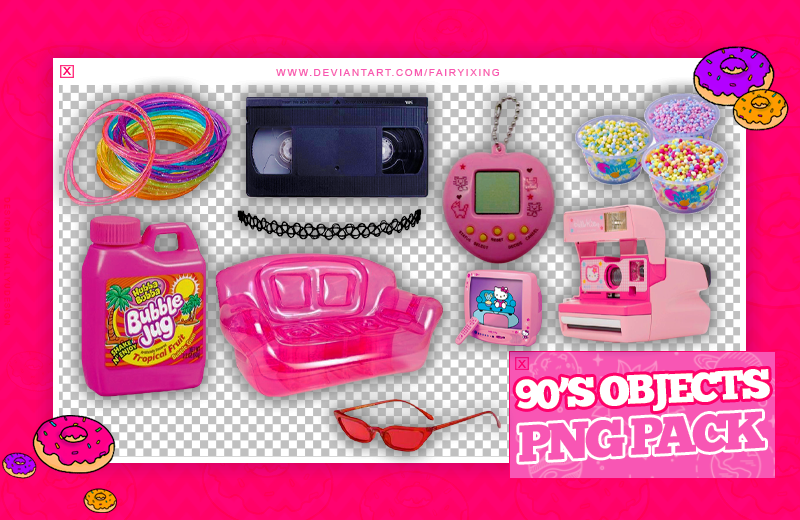 Png Pack 90 S Objects By Fairyixing On Deviantart