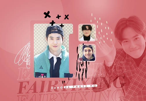 [PNG PACK] SUHO - EXO (HEART FOR YOU)