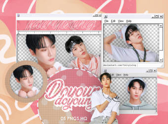 [PNG PACK] DOYOUNG - NCT (JENIM SPORTS PHOTOCARDS)