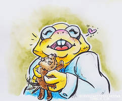 alphys by mitani-chan