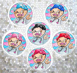 markimoo badges by mitani-chan