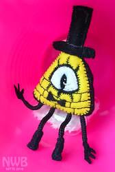 Bill plushie by mitani-chan