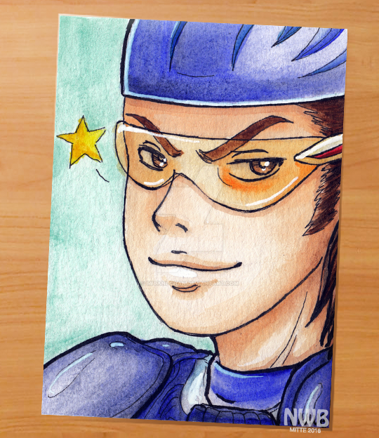 Pretty boy catcher by mitani-chan