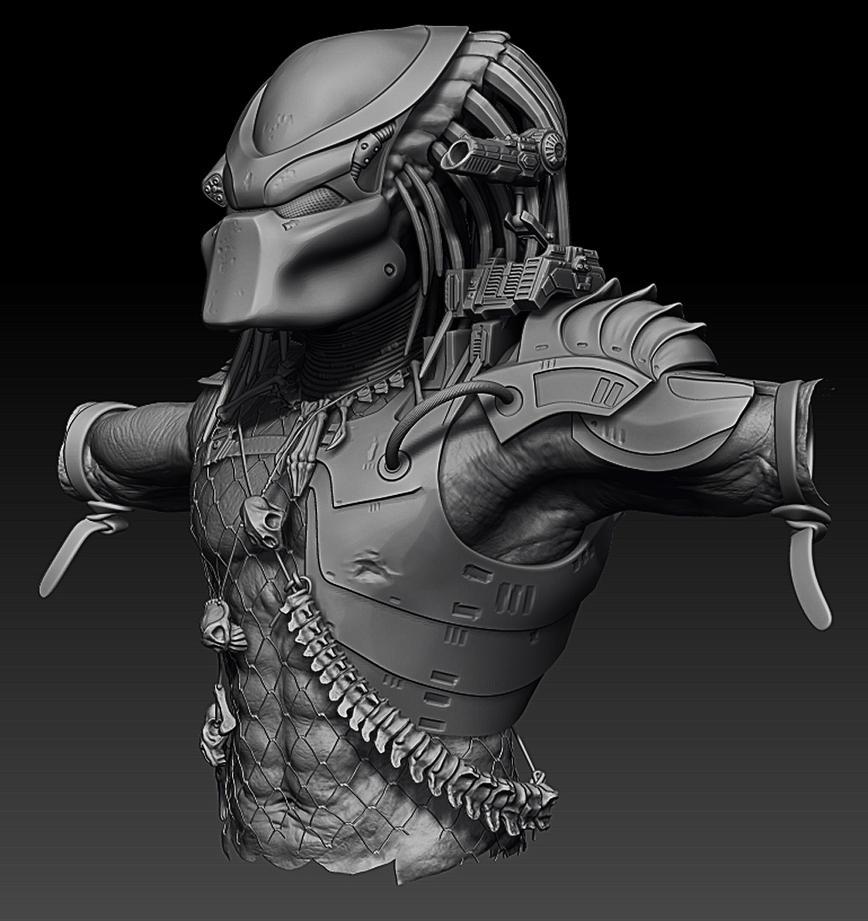 Finished Zbrush Predator by Ravanna7