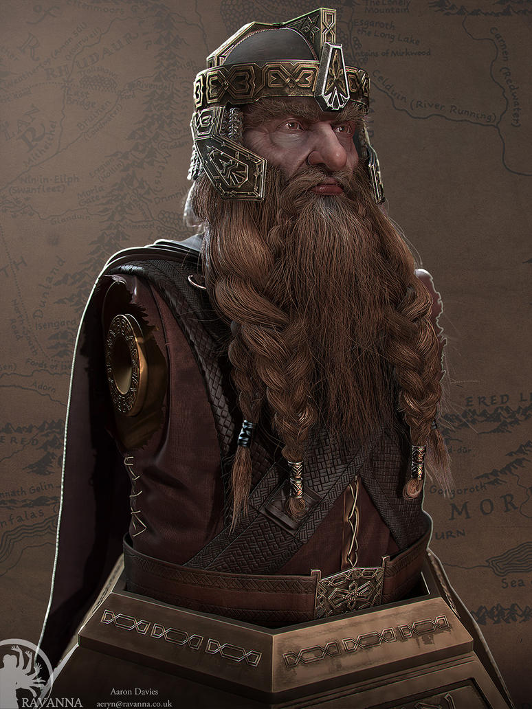 Gimli bust Updated. by Ravanna7