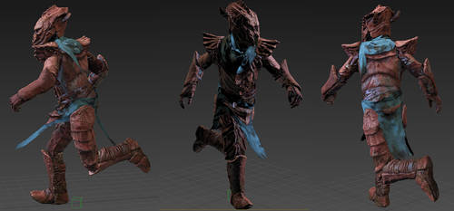 DREUGH ARMOUR RIG + SHADER TEST