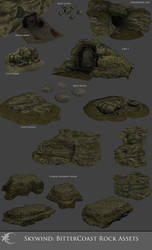 Skywind Bittercoast Asset Set 2