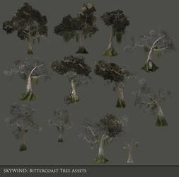 Bittercoast Tree Asset Batch