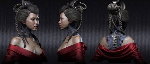 Geisha design 1.