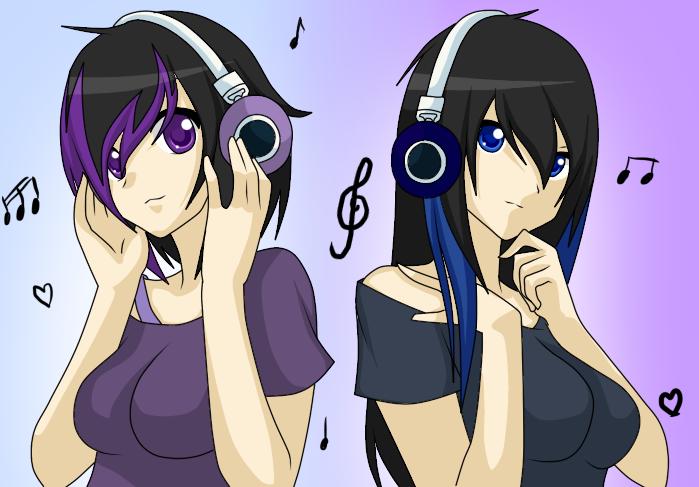 Ayame hinata and Yuki Hinata Avatar