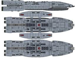 Battlestar Avenger by kavinveldar