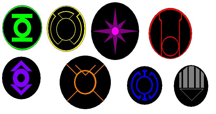 The Lantern Symbols by kavinveldar