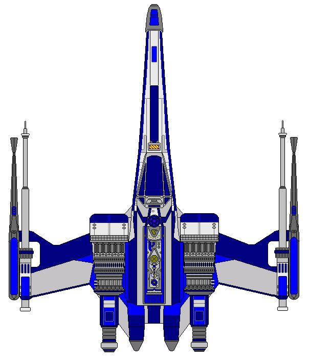 Heavy X-wing Custom by kavinveldar