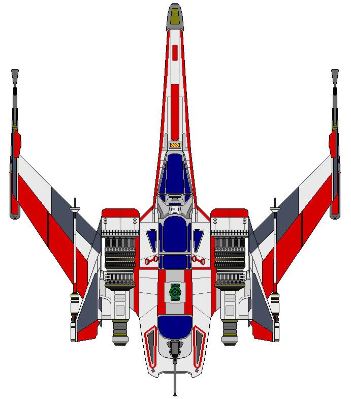 Republic X-Arc Fighter by kavinveldar