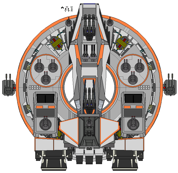 Imperious Class Battlecruiser by kavinveldar
