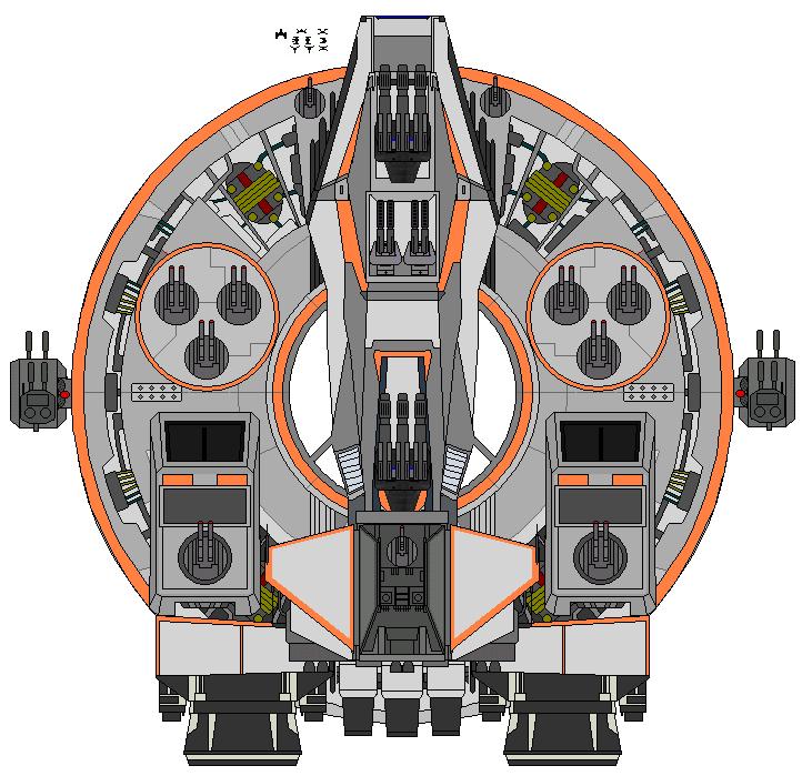 Imperious Class Battlecruiser by kavinveldar