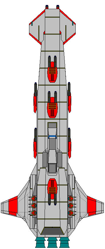 Republic Hammer Class Cruiser by kavinveldar