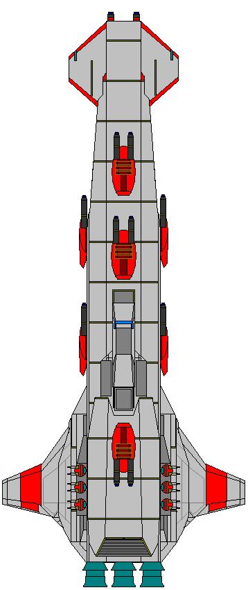 Republic Hammer Class Cruiser by kavinveldar