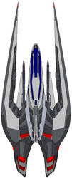 Vector-Stream Class Fighter by kavinveldar