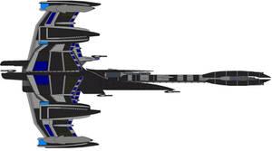 Sheridan Class Battlecruiser by kavinveldar