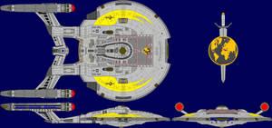 ISS Enterprise by kavinveldar