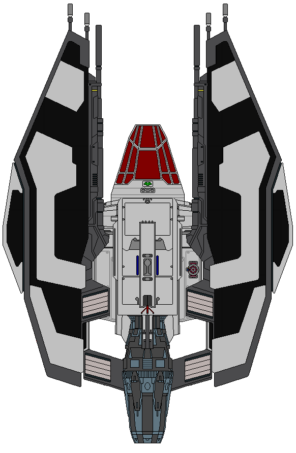 Sith Anger Class Corvette by kavinveldar