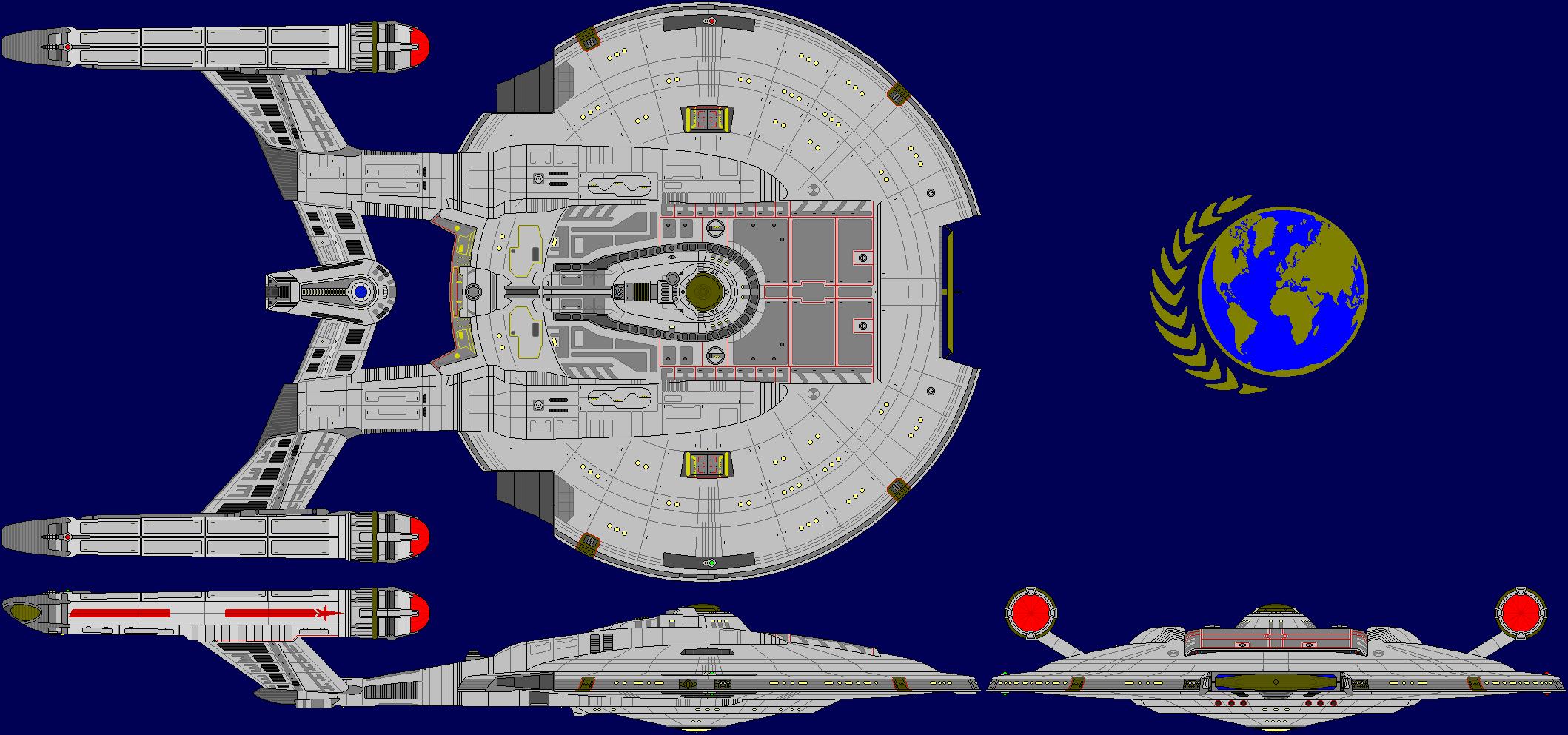 USS Columbia NX-02 by kavinveldar