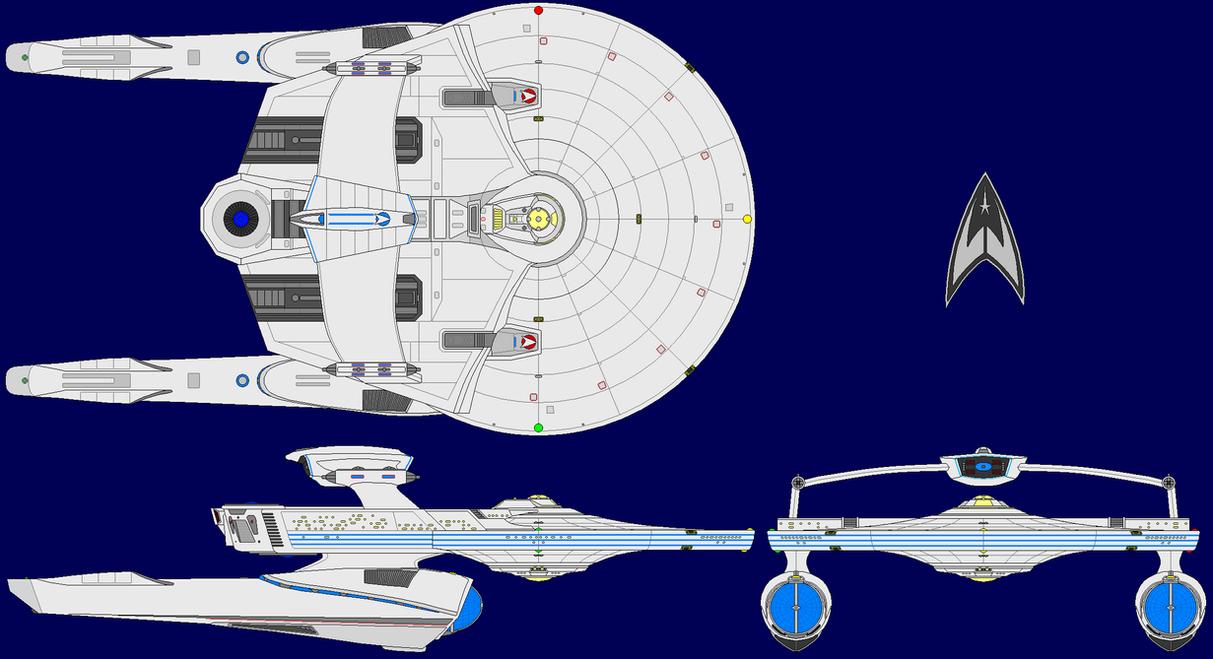 JJ Abramsverse USS Reliant 213047291 on Star Trek Starship Parts