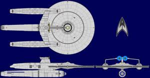 USS Devonshire Kelvin Era