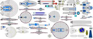 Newer starship parts