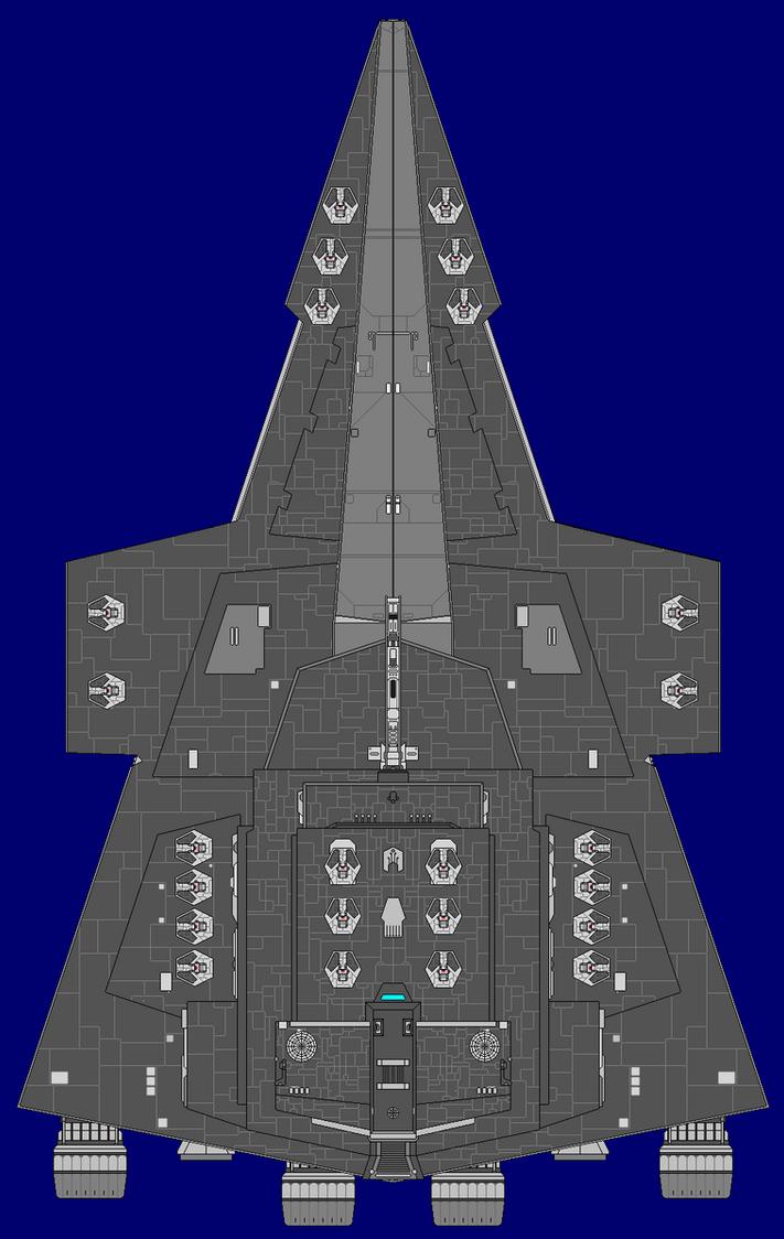 Varros Class Star Destroyer for Jesse220 by kavinveldar