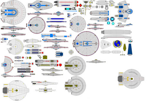 Newer parts for ships!