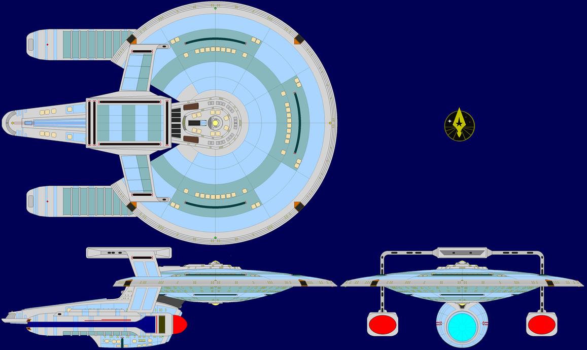 USS Korelev NCC-1421 - C by kavinveldar