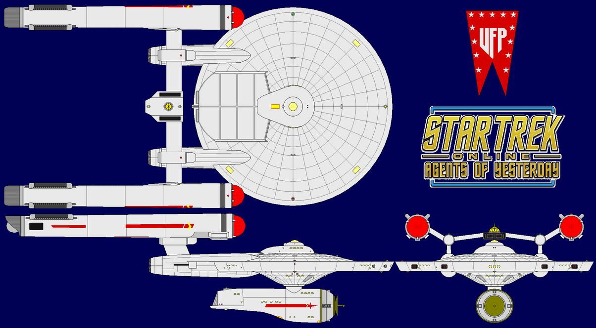 Star Trek Online Uss Ranger Ncc 1750 By Kavinveldar On Deviantart Engineering Schematics