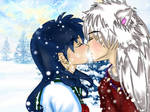 Secret Santa: A winter's kiss