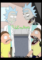 Rick and Morty by SuperEvilMan