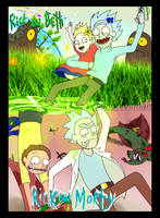 RICK and BETH ... RICK and MORTY by SuperEvilMan