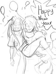 Happy New Year by someonefrombillions