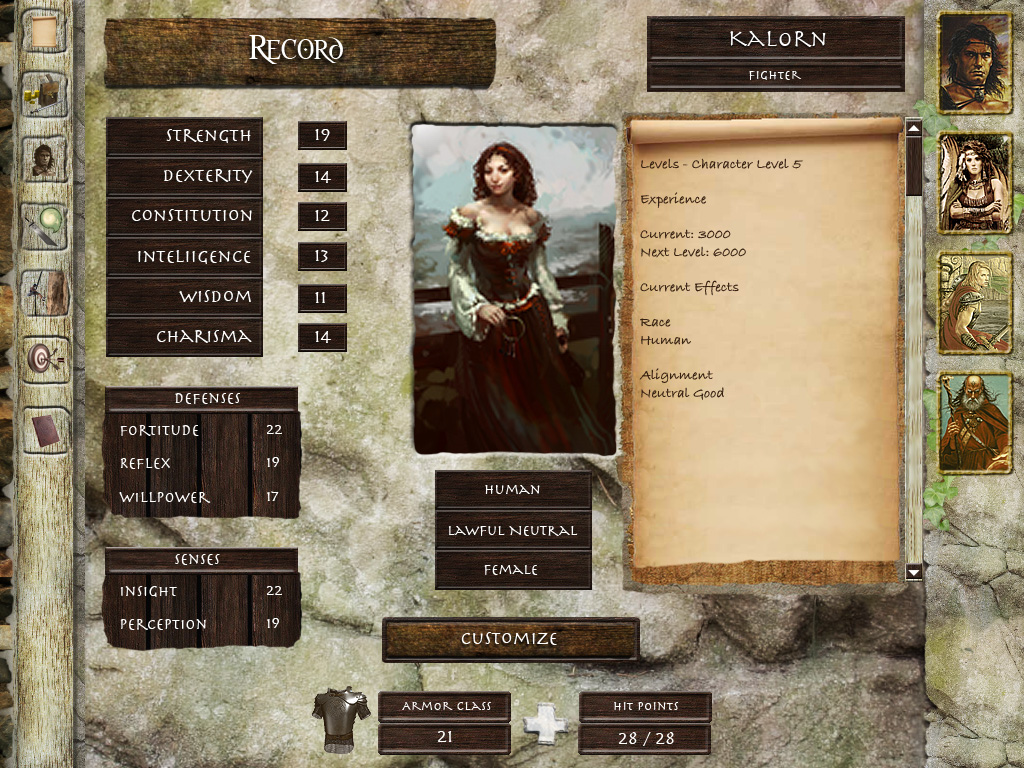 DnD Character Creator Draft 3 by JesterXL on DeviantArt