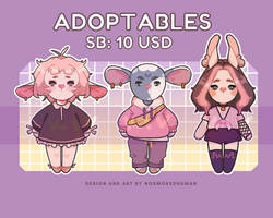 [OPEN] ADOPTS AUCTION by nosmokedhuman