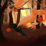 {P} Within the Orange Woods