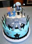 Hatsune Miku Birthday Cake by Aiko--Shin-Sedai
