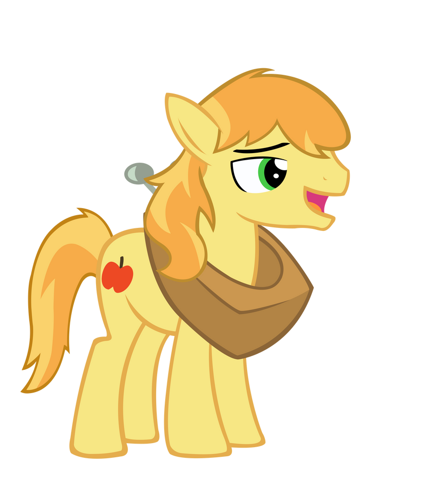 Braeburn with yoke by sofunnyguy