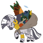 Zecora carrying stuff