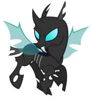 Changeling flying around by sofunnyguy