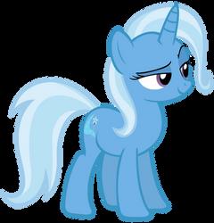 Smug Trixie by sofunnyguy