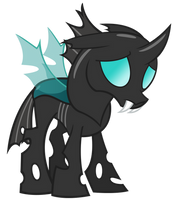 Sad changeling by sofunnyguy